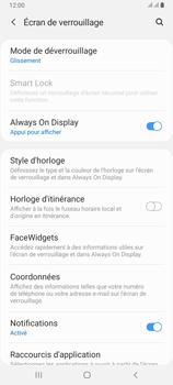 Samsung Galaxy A80 - Sécuriser votre mobile - Activer le code de verrouillage - Étape 5