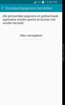 Samsung Galaxy Note Edge - toestel resetten - fabrieksinstellingen terugzetten - stap 7