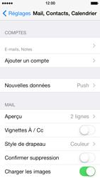 Apple iPhone 5s - E-mail - Configuration manuelle - Étape 16