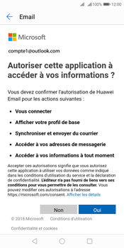 Huawei Y7 (2018) - E-mail - 032c. Email wizard - Outlook - Étape 7