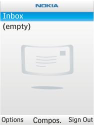 Nokia X2-00 - E-mail - Sending emails - Step 6