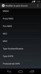 Motorola Moto G - MMS - configuration manuelle - Étape 11