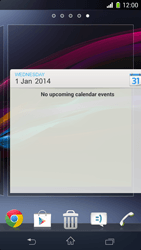 Sony Xperia Z1 Compact - Getting started - Installing widgets and applications on your start screen - Step 9