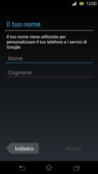 Sony Xperia T - Applicazioni - Configurazione del negozio applicazioni - Fase 5