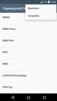 Sony F3211 Xperia XA Ultra - MMS - Manuelle Konfiguration - Schritt 16