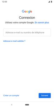 Google Pixel 3 - Applications - Créer un compte - Étape 5
