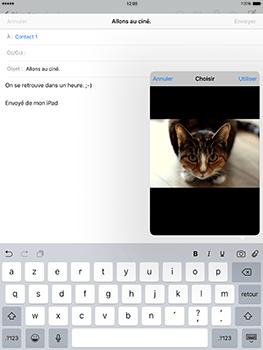 Apple iPad Mini 3 iOS 10 - E-mail - Envoi d