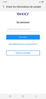 Samsung Galaxy A50 - E-mail - 032b. Email wizard - Yahoo - Étape 7
