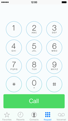 Apple iPhone 5c - Voicemail - Manual configuration - Step 6