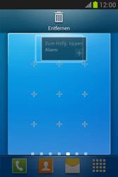 Samsung Galaxy Fame Lite - Startanleitung - Installieren von Widgets und Apps auf der Startseite - Schritt 11