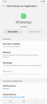 Samsung Galaxy A80 - Applications - Comment désinstaller une application - Étape 6