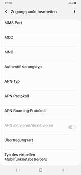 Samsung Galaxy A50 - MMS - Manuelle Konfiguration - Schritt 14