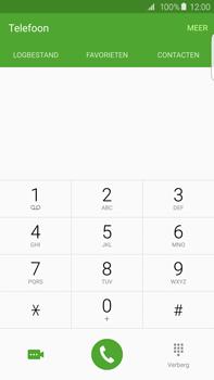 Samsung G928F Galaxy S6 Edge + - Voicemail - Handmatig instellen - Stap 4