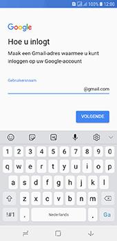 Samsung galaxy-j6-sm-j600fn-ds - Applicaties - Account aanmaken - Stap 12