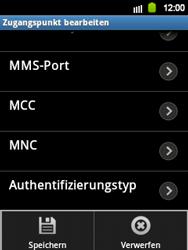 Samsung Galaxy Y - Internet und Datenroaming - Manuelle Konfiguration - Schritt 14