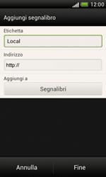 HTC Desire X - Internet e roaming dati - Uso di Internet - Fase 11