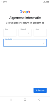 Samsung galaxy-j6-sm-j600fn-ds-android-pie - Applicaties - Account aanmaken - Stap 10