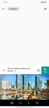 OnePlus 7T - Contact, Appels, SMS/MMS - Envoyer un MMS - Étape 9
