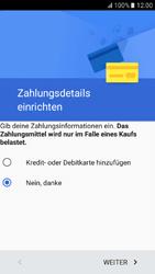 Samsung Galaxy A3 (2017) - Apps - Konto anlegen und einrichten - 19 / 22