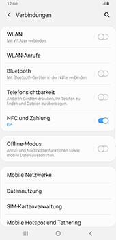 Samsung Galaxy Note9 - Android Pie - Internet und Datenroaming - Prüfen, ob Datenkonnektivität aktiviert ist - Schritt 5