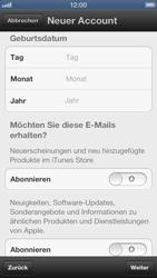 Apple iPhone 5 - Apps - Einrichten des App Stores - Schritt 13