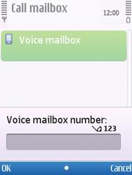 Nokia C5-00 - Voicemail - Manual configuration - Step 6
