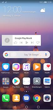 Huawei P20 Pro - Startanleitung - Installieren von Widgets und Apps auf der Startseite - Schritt 10