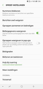 Samsung Galaxy A9 (2018) - voicemail - handmatig instellen - stap 6