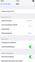 Apple iPhone 6 (iOS 10) - e-mail - handmatig instellen - stap 4