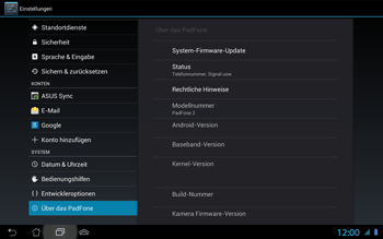 Asus Padfone 2 - Software - Update - Schritt 6