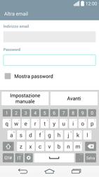 LG G3 - E-mail - configurazione manuale - Fase 7