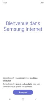 Samsung Galaxy A51 5G - Internet et connexion - Naviguer sur internet - Étape 5
