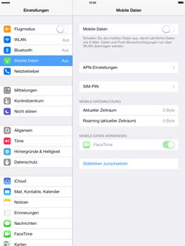 Apple iPad mini iOS 7 - Internet und Datenroaming - Prüfen, ob Datenkonnektivität aktiviert ist - Schritt 4