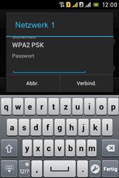 Sony Xperia Tipo Dual - WLAN - Manuelle Konfiguration - Schritt 7