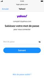 Apple iPhone 6s - iOS 14 - E-mail - 032b. Email wizard - Yahoo - Étape 7