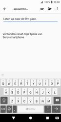 Sony Xperia XZ2 Compact - e-mail - hoe te versturen - stap 8