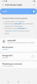 Samsung Galaxy A80 - Internet et connexion - Partager votre connexion en Wi-Fi - Étape 13