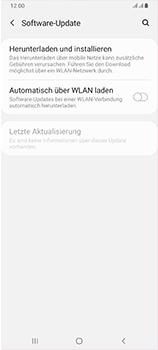Samsung Galaxy A70 - Software - Installieren von Software-Updates - Schritt 5