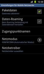 Samsung Galaxy Ace 2 - Netzwerk - Netzwerkeinstellungen ändern - 6 / 8