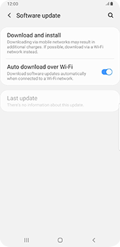 Samsung Galaxy S9 Plus - Android Pie - Software - Installing software updates - Step 6