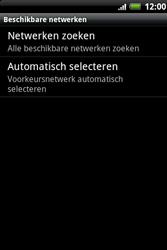 HTC A510e Wildfire S - Netwerk - gebruik in het buitenland - Stap 9