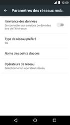 Motorola Moto E (1st Gen) (Lollipop) - Internet et connexion - Activer la 4G - Étape 6