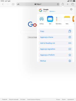 Apple iPad Mini 4 - ipados 13 - Internet e roaming dati - Uso di Internet - Fase 6