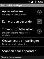 Alcatel OT-903 - Bluetooth - Headset, carkit verbinding - Stap 7