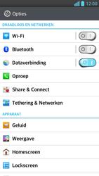 LG D505 Optimus F6 - voicemail - handmatig instellen - stap 4