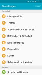 Samsung Galaxy S6 Edge - Fehlerbehebung - Handy zurücksetzen - 6 / 11