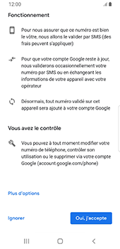 Samsung Galaxy S9 Android Pie - Applications - Créer un compte - Étape 14