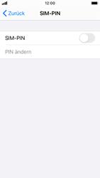 Apple iPhone SE - iOS 14 - Startanleitung - So aktivieren Sie eine SIM-PIN - Schritt 5