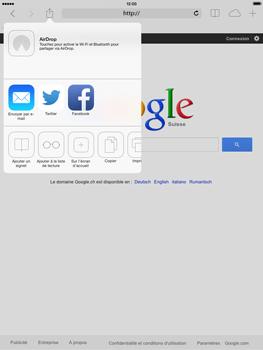 Apple iPad mini iOS 7 - Internet et roaming de données - Navigation sur Internet - Étape 7