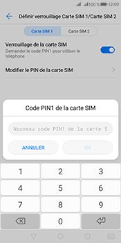 Huawei Mate 10 Pro - Sécuriser votre mobile - Personnaliser le code PIN de votre carte SIM - Étape 10
